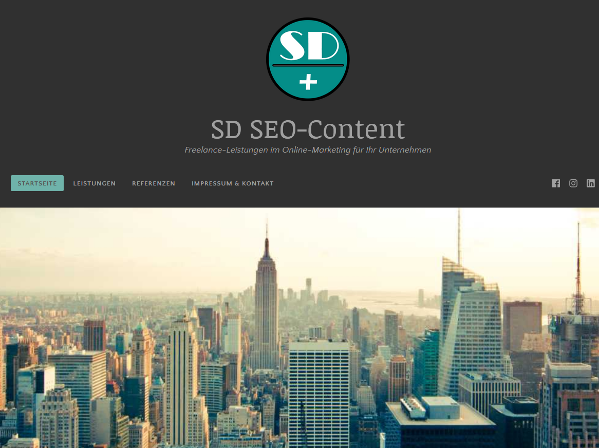 Online: Website SD SEO-Content